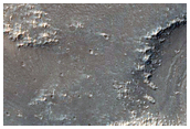 Line of Pits in Syria Planum