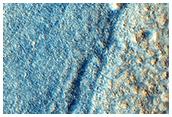 Zir Crater in Chryse Planitia