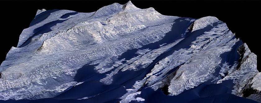 Becquerel Crater Dune and Yardang Interactions
