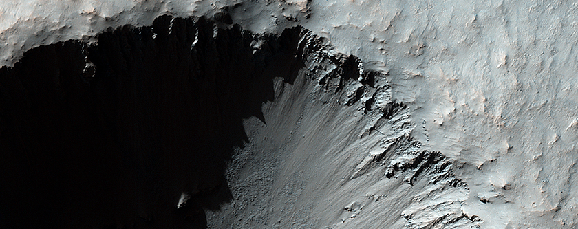 A Young, Fresh Crater in Hellespontus