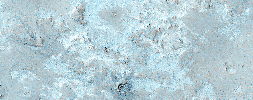 The Northwest Floor of Gale Crater