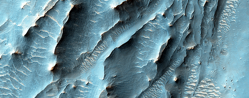 The Southern Floor of Gale Crater