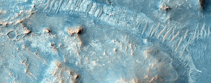 Rocky Terrain Near Nili Fossae