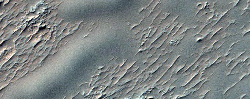 Dunes on Crater Floor