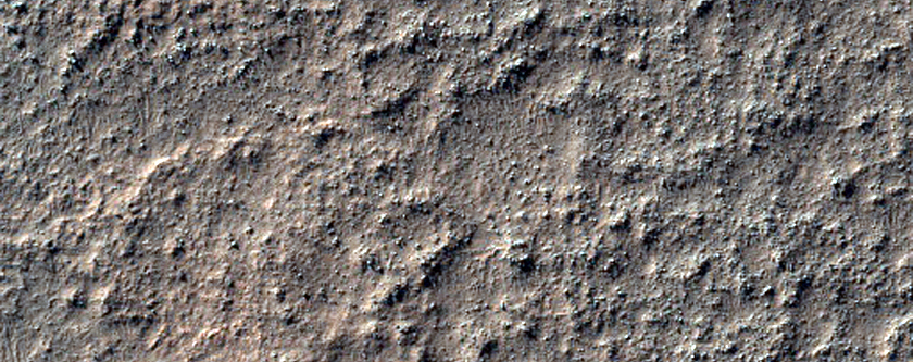 Thermophysically Distinct Deposits on Degraded Crater Floor