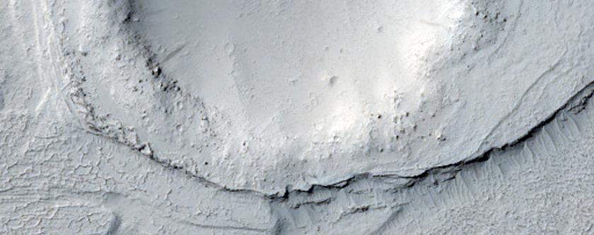 Streamlined Form in Lethe Vallis