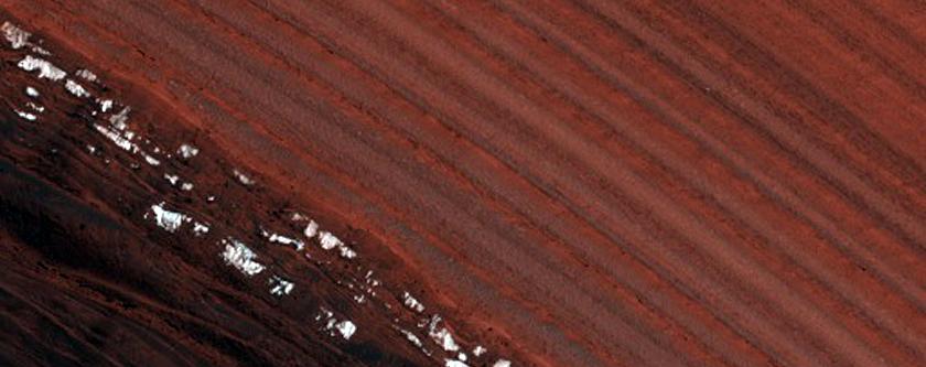 Basal Unit in North Polar Layered Deposits