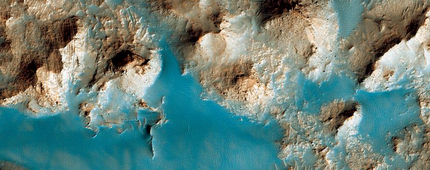 Crater Central Peak