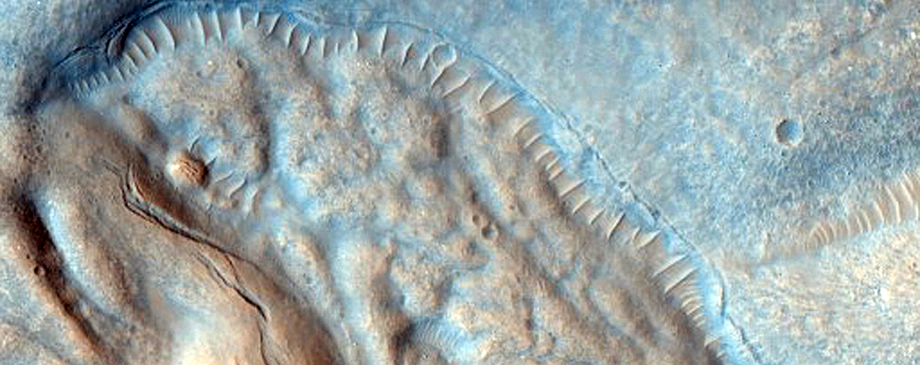 Well-Preserved 6-Kilometer Impact Crater