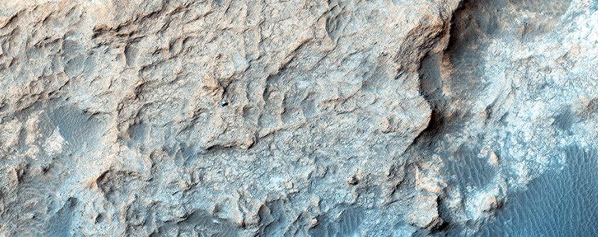 Curiosity on the Naukluft Plateau