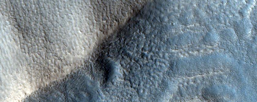 Rim of Vivero Crater