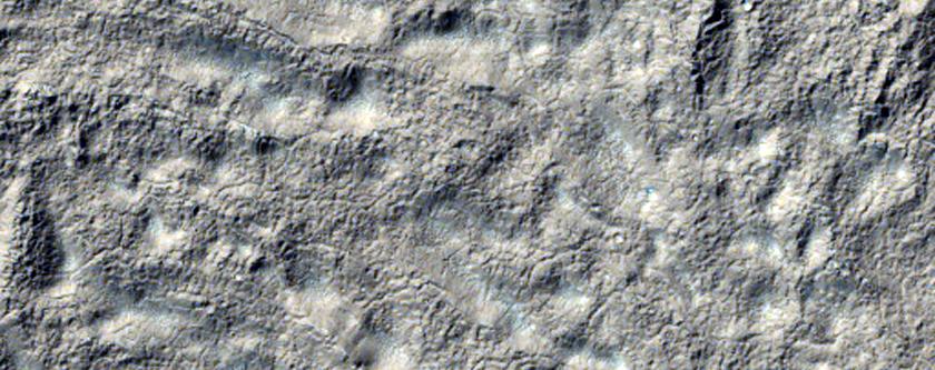 Winding Channel Near Reull Vallis