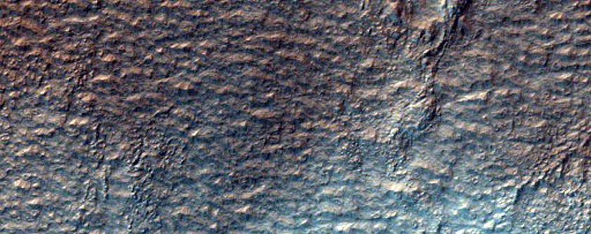 Perplexing Landforms in Beloha Crater