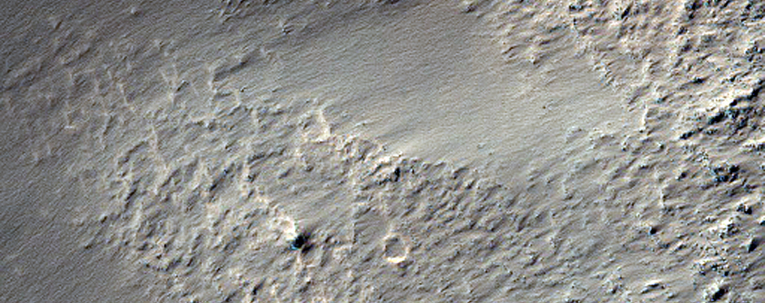 Candidate Human Exploration Zone in Newton Crater