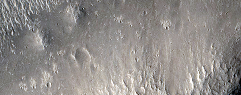 Rough Terrain in Cerberus Region