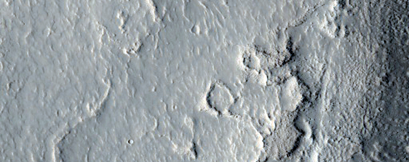 Rim of Degraded Crater