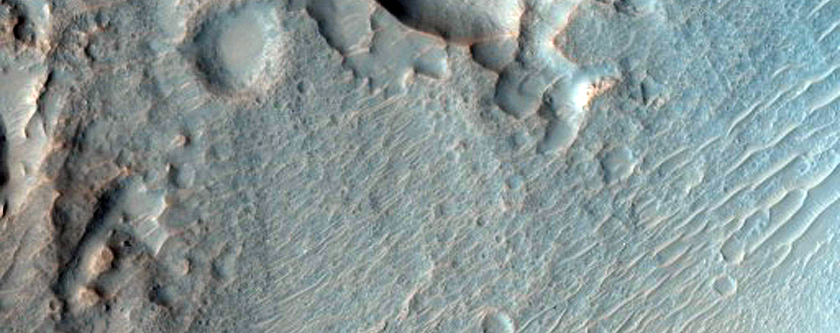 Craters with Steep Slopes
