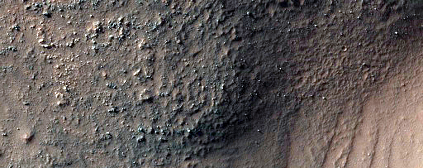 Bright Deposits in Nereidum Montes