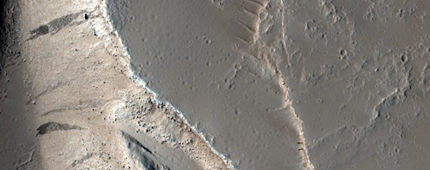 Fissure East of Olympus Mons