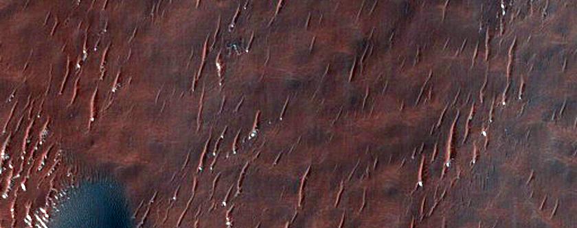 Dunes Atop Crater Infill
