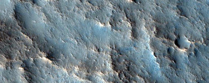 Mound in Acidalia Planitia