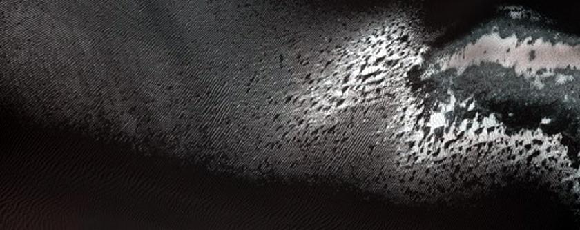Monitor Dune Gullies in Matara Crater