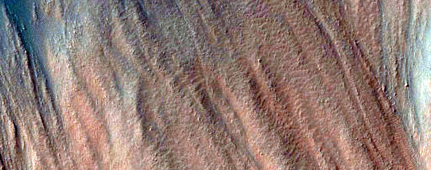 Lobate Debris Apron in Northwest Argyre Region