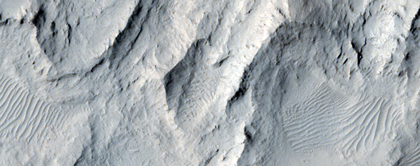 Dune Forms in Viking 1 Image 436S03