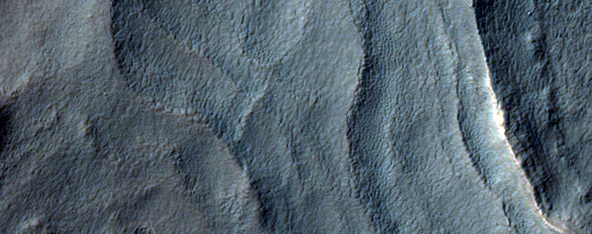 Multiple Layers on Crater Floor Near Argyre Region