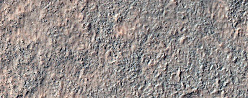 Detrital Symmetrical Features in Terra Cimmeria