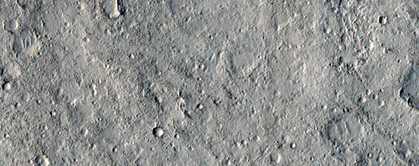 Floor of Schiaparelli Crater