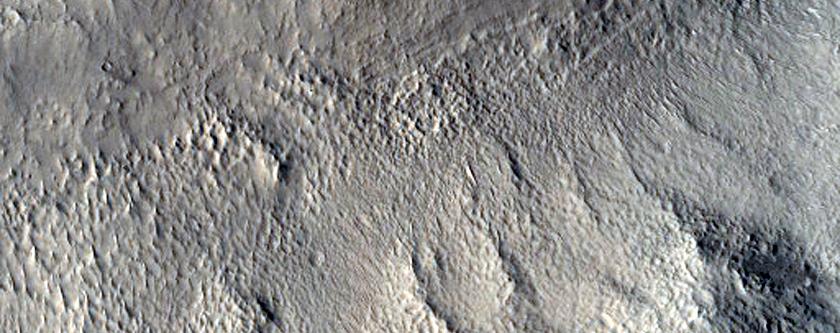 Crater Floor in Arabia Terra