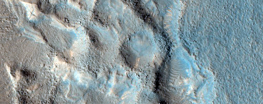 Semeykin Crater Floor