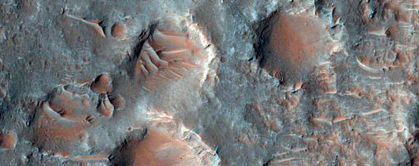 Fracture across Floor of Upper Morava Valles