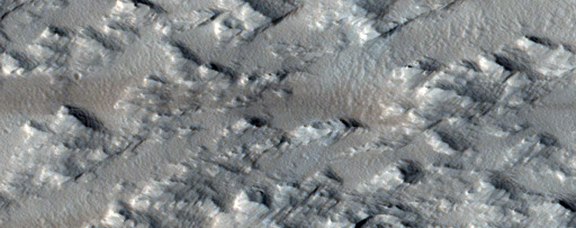 Sample of Flank of Arsia Mons