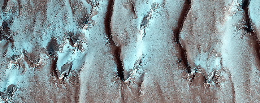 On the Edge of the South Pole Layered Deposit