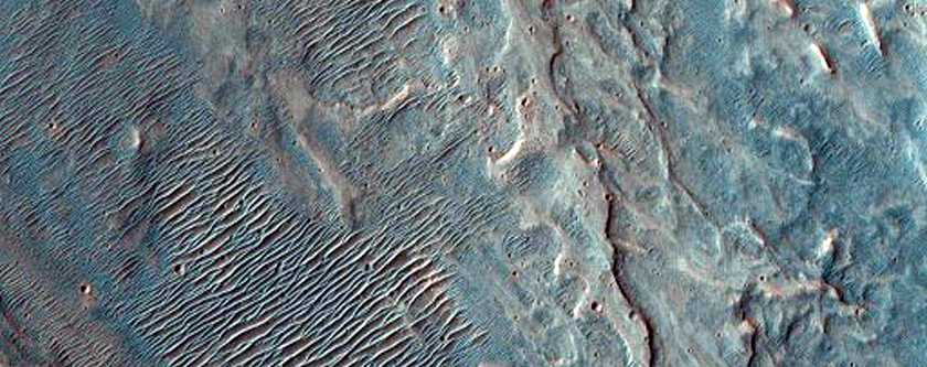 Floor of Crater Adjacent to Babakin Crater
