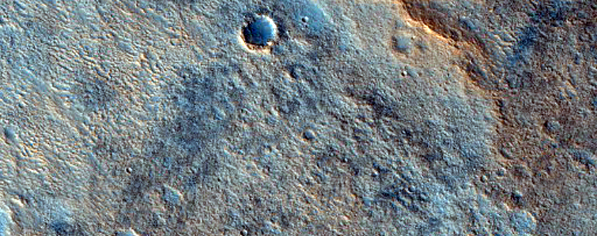 Scarp in Utopia Planitia