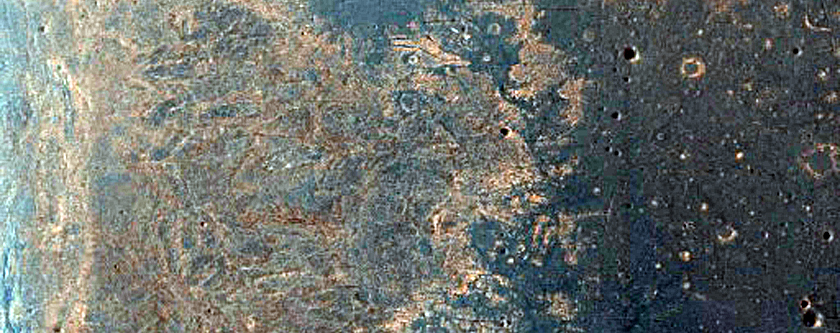 Region Dubbed Botany Bay in Endeavour Crater