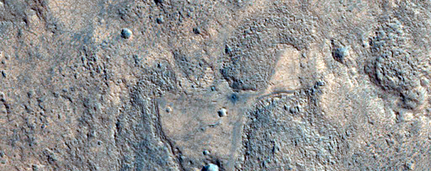 Eroded Clay Deposit