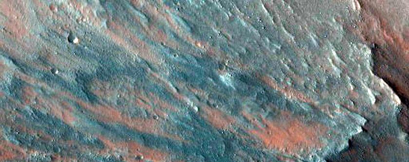 Southwest Melas Chasma Slope Monitoring