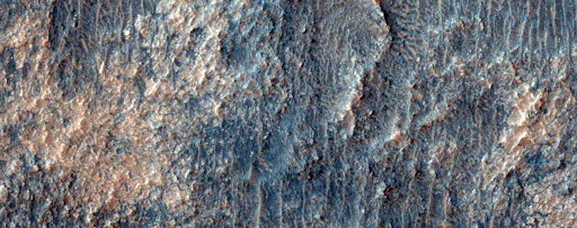 Light-Toned Material in Noachis Terra