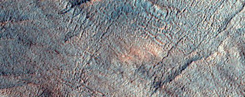 Arcuate Ridges with Gullies