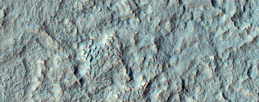 Possible Bedrock Exposure in Noachis Terra