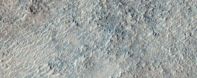 Olivine-Rich Knob in Argyre Planitia