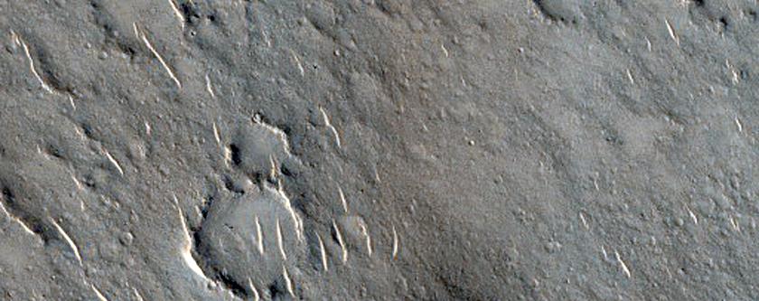 Cones in Isidis Planitia