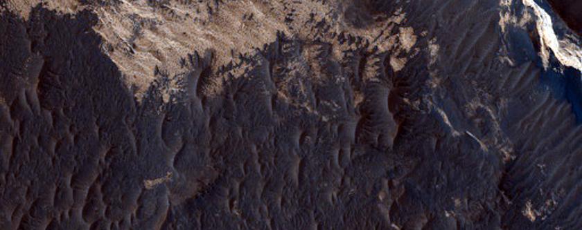 Contrasting Thermal Inertia Units in Meridiani Planum