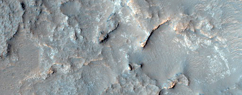 Floor of Large Crater