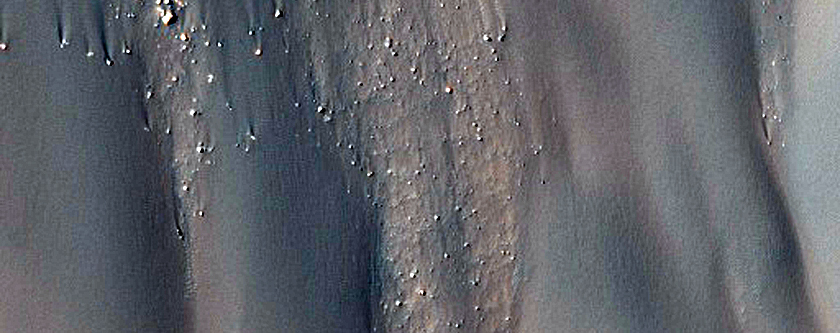 Dunes in Lowell Crater