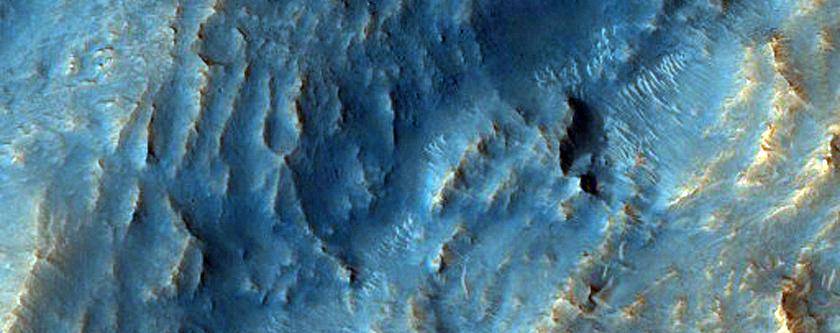 Tithonium Chasma